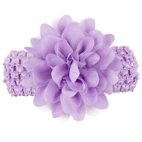 Lovely Girl Headband Lace Bow Flower Children Kids Hair Band Accessory Headwear