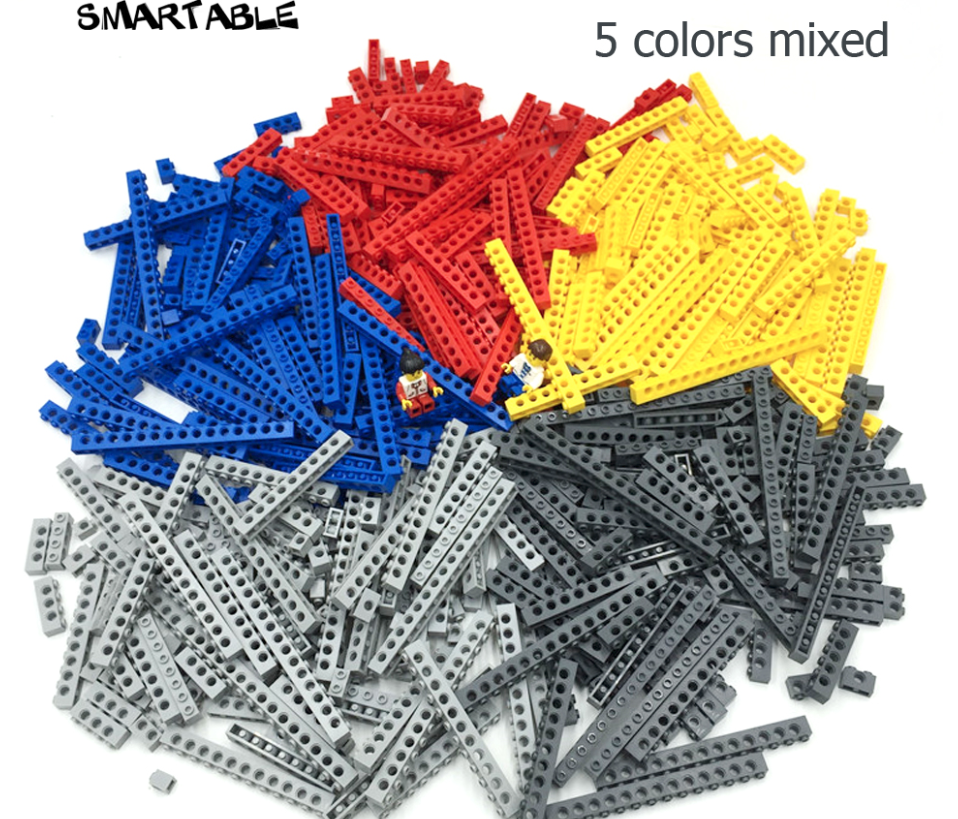 Compatible Lego Technic  Parts Technic giocattoli 500g lot Lego Accessory 10 szs 5 cols  rivenditore di fitness