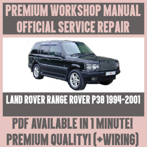 Range Rover P38 Workshop Manual Pdf