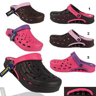 Señoras Jardín Zuecos Para Mujer Verano Sandalias Playa Verano Enfermera Hospital Zapatos Talla