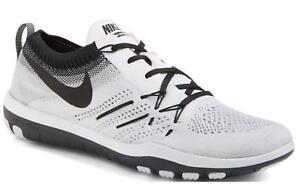 Da Donna Nike Free TR FOCUS Flyknit Scarpe Da Ginnastica Corsa Bianco 844817 102
