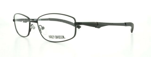 Harley Davidson Eyeglass Frames 100 Authentic Black HD 363 Tag | eBay