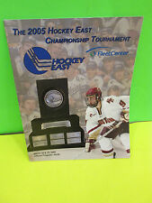 NCAA-2005 HOCKEY EAST CHAMPIONSHIP TOURNAMENT GAME PROGRAM