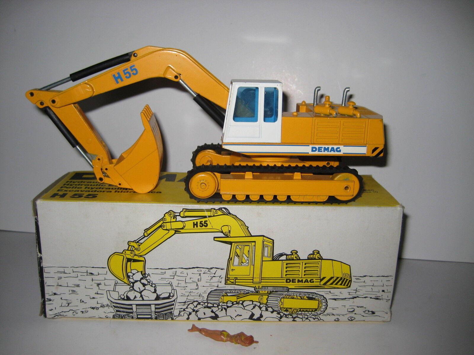 DEMAG H 55 Excavateurs tieflöffel vers à soie  273 NZG 1 50 neuf dans sa boîte