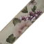 1 Metre length of rustic vintage rose fabric ribbon 40mm with woven edge