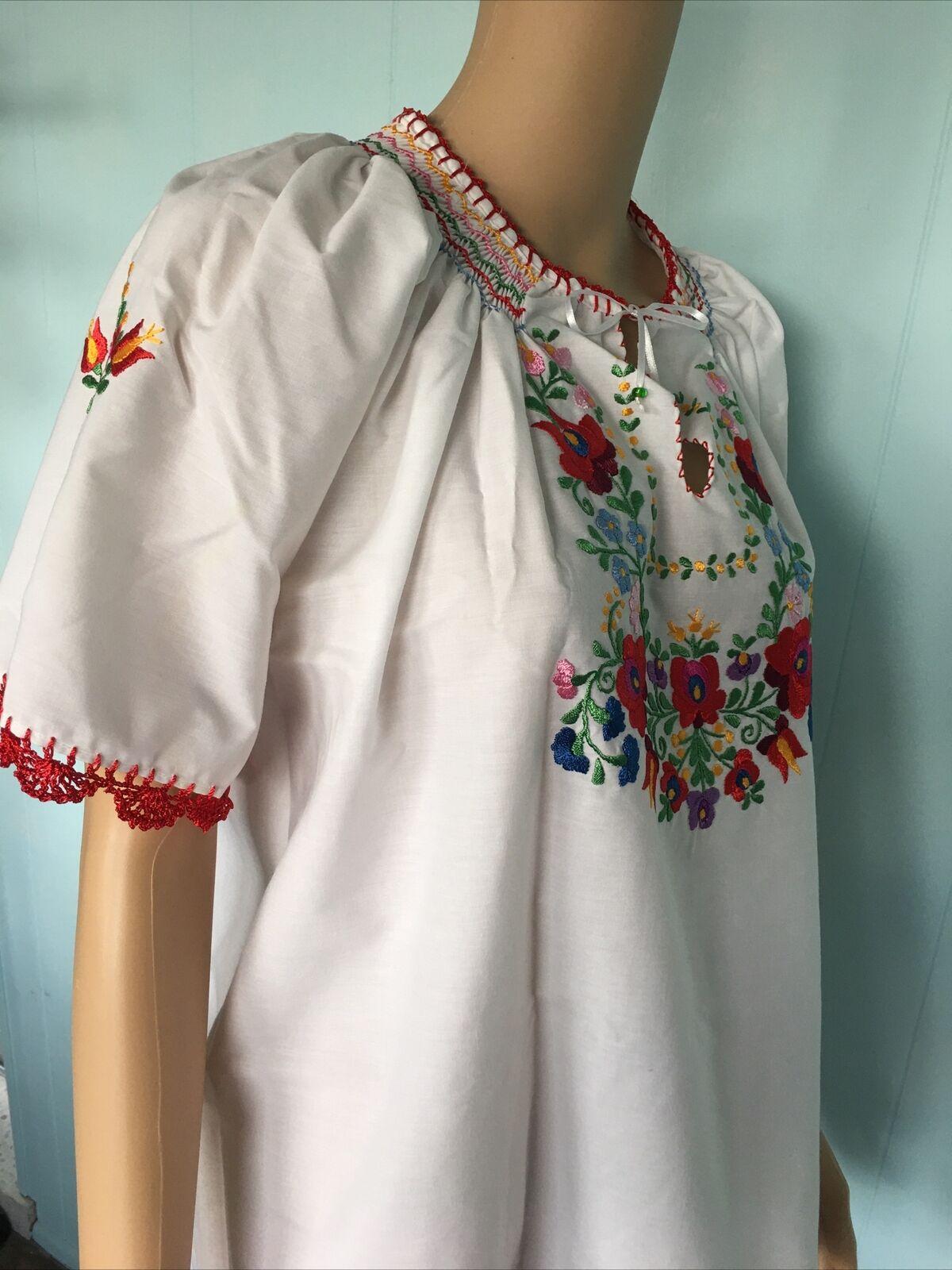Traditional Hungarian Matyo Kalocsai Embroidered … - image 6