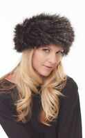 With Tags Parkhurst Faux Fur sherpa Hat 1 Size 23503 Made In Canada