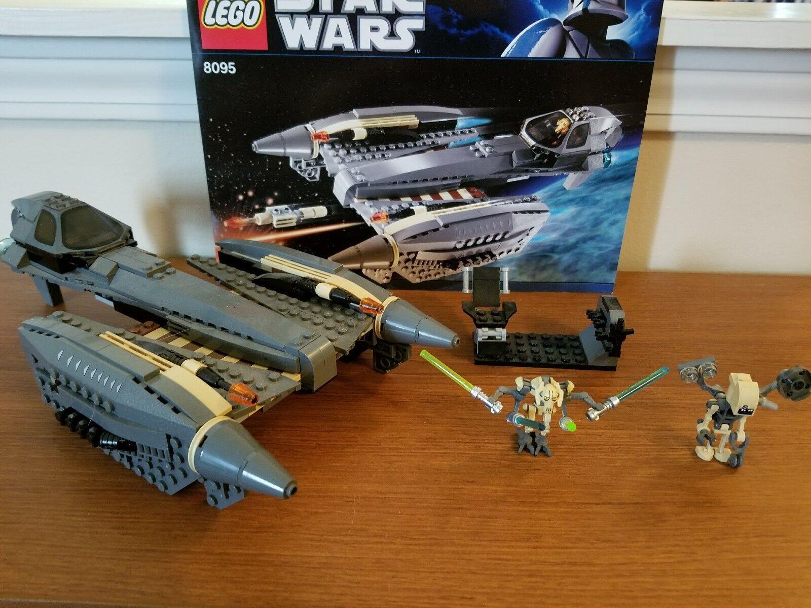 Lego Star Star Star Wars General Grievous' Starfighter (8095) dc00e0