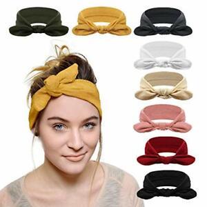 DRESHOW 8 Pack Women's Headbands Headwraps Hair Bands Bows Accessories    eBay