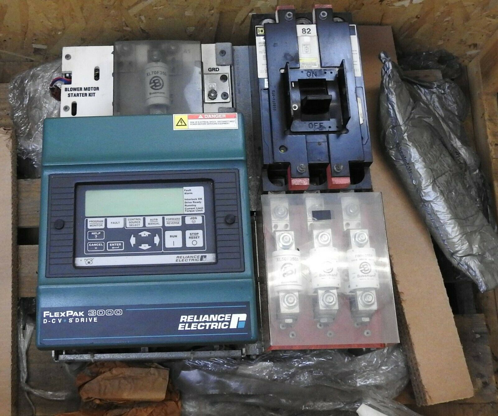 RELIANCE ELECTRIC FLEXPAK