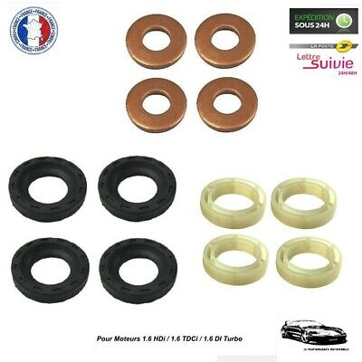 Montage Bosch Kit Joint 4 Injecteurs pour Citroën C3 Picasso 1.6 HDi NEUF
