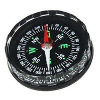 Pocket Survival Liquid Filled Button Compass for Hiking Camping Outdoor MW