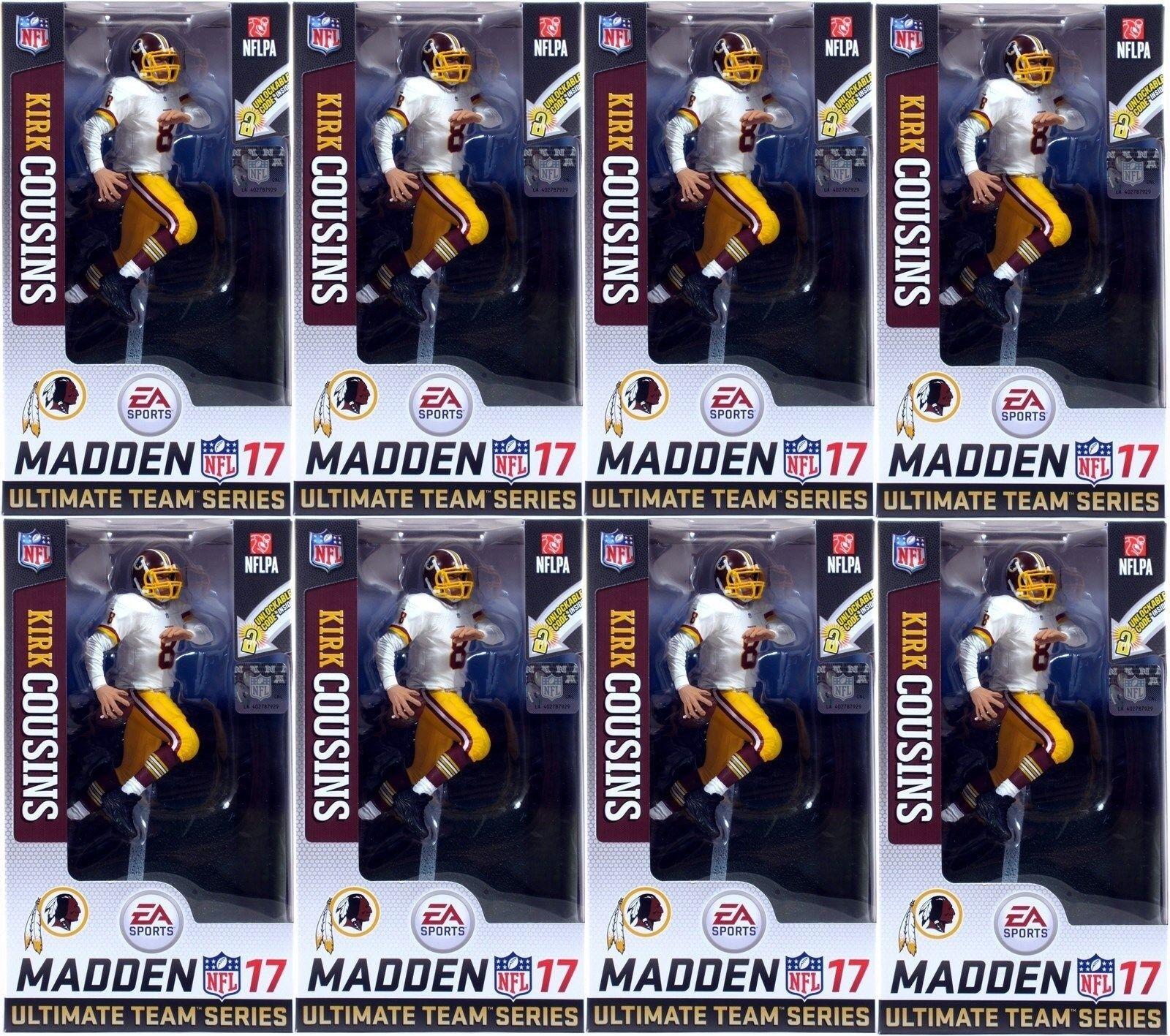 McFarlane EA Sports Madden NFL 17 Ultimate Team Serie 3 Kirk primos-Lote de 8