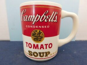 3a151339134 Details about Vintage Campbell's Tomato Soup Mug from the 70's