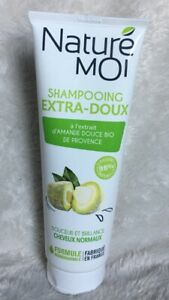 NATURE MOI Shampoing extra doux D'amande Douce BIO Cheveux Normaux 250ml