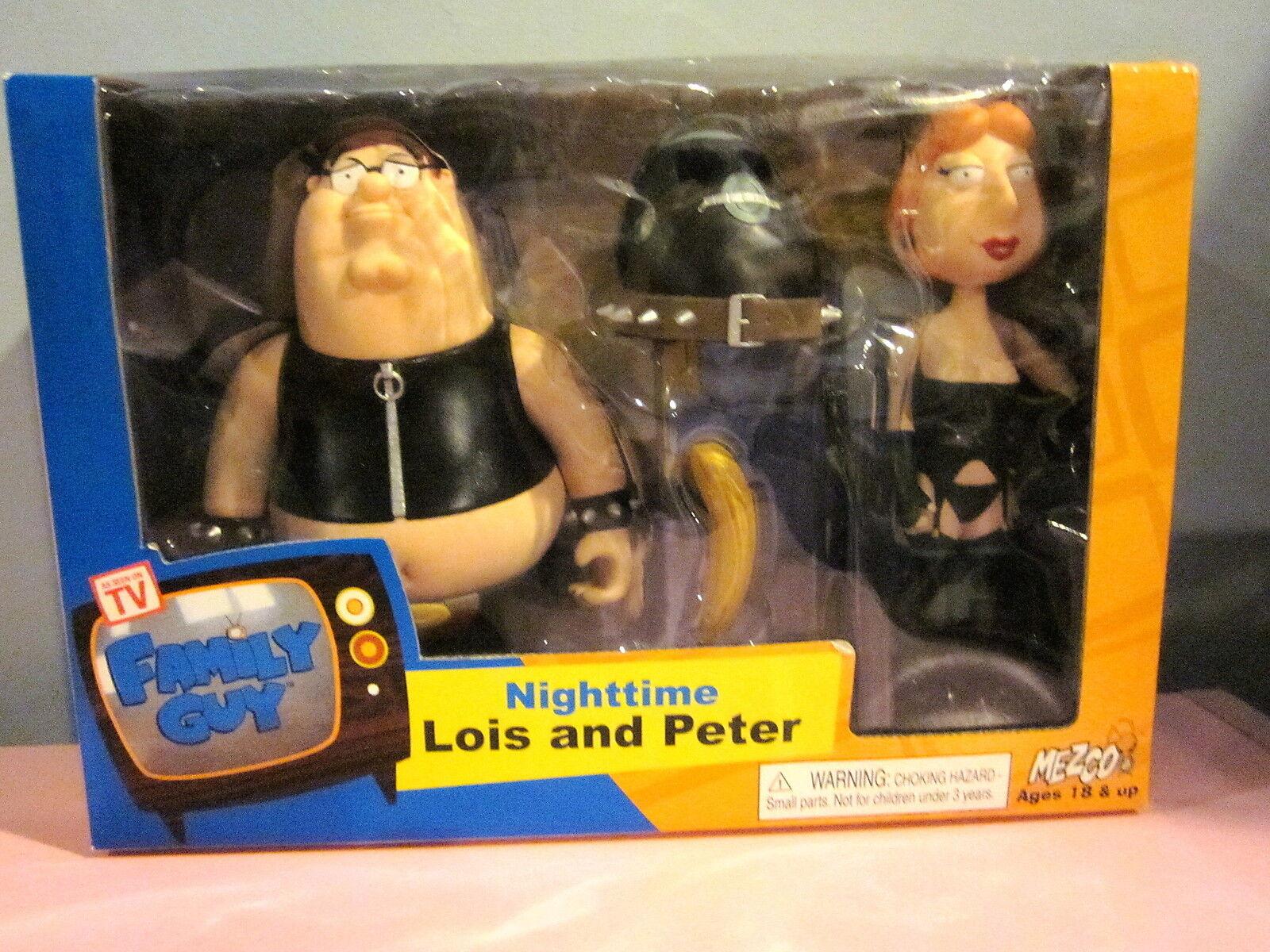 Family Guy Mezco Nighttimes Lois e Peter Sigillato