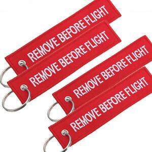 REMOVE BEFORE FLIGHT Keychain Key Ring Pilot Bag Crew Tag Luggage ... 6f4dd86482