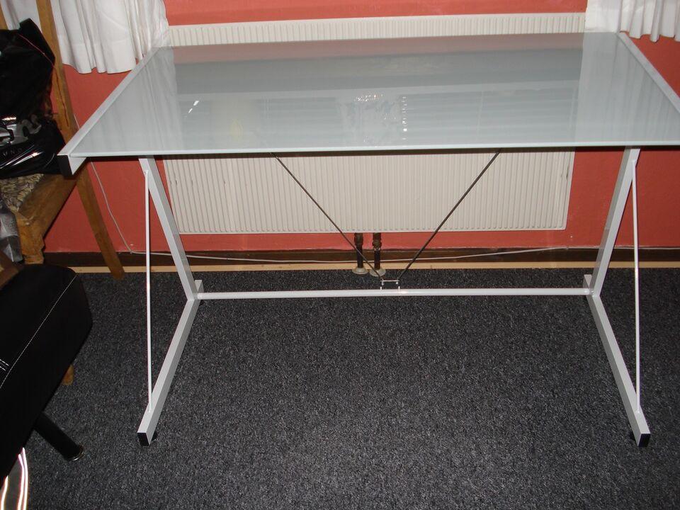 glasplade til skrivebord