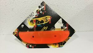 VINTAGE-SKATEBOARD-ORANGE-TAIL-GUARD-SAVER-OLD-SCHOOL-BLISTER-SPORT-SKATES