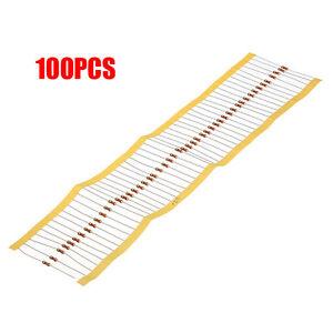 100 PCS 1/4W 0.25W 5% 220 R OHM Carbon Film Resistor 1st Class Postage New