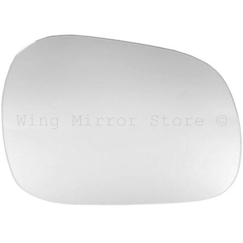 Right Driver Side WING DOOR MIRROR GLASS For Suzuki Grand Vitara 98-05 Stick On