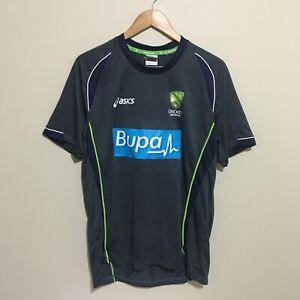 Cricket-Australia-Asics-Bupa-2014-Training-Shirt-Mens-Large