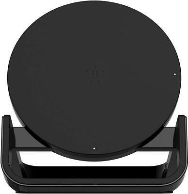 Belkin Boost Up Fast Qi Wireless Charging Stand 10 W UK 3 Pin Plug Black | eBay