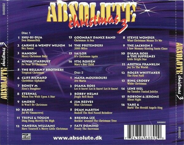 various/diverse: absolute christmas 3, andet