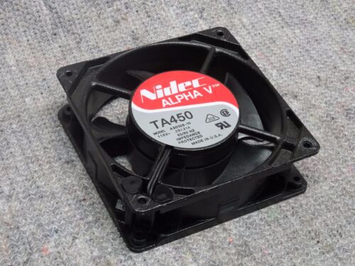 Nidec Alpha V TA450 A30108-10 115VAC 119x119x38mm Cooling Fan 120mm