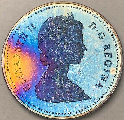 1982 Canada Silver Proof Dollar Coin BU UNC