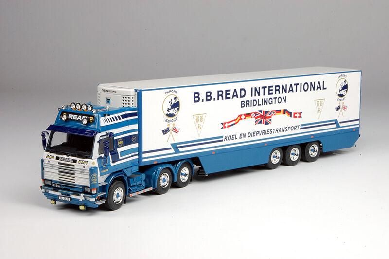 Tekno BB Read Scania 112 with Fridge Trailer