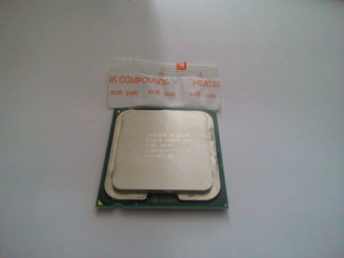 Intel Core 2 Duo Model E8400 SPAPL SLB9J 3 GHz CPU LGA 775 1333 MHz