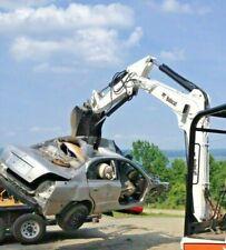 Hydraulic Thumb Bobcat Mini Excavator Pin On Grapple Clamp Claw 337 341 Xchange