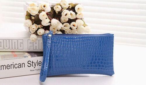 Gorgeous Patent Cute Clutch Bag Zip Small Summer Handbag Evening Fab Party Purse