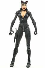 """DC Direct Batman Arkham City CATWOMAN 6.5"""" Action Figure 2012 glued knee"""