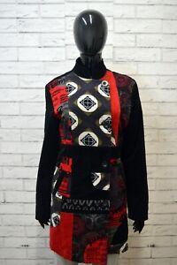 Cappotto-DESIGUAL-Trench-Donna-Taglia-M-Giacca-Giubbino-Cotone-Jacket-Giubbotto