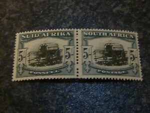 SOUTH-AFRICA-POSTAGE-STAMP-SG64-5-PAIR-VERY-LIGHTLY-MOUNTED-MINT