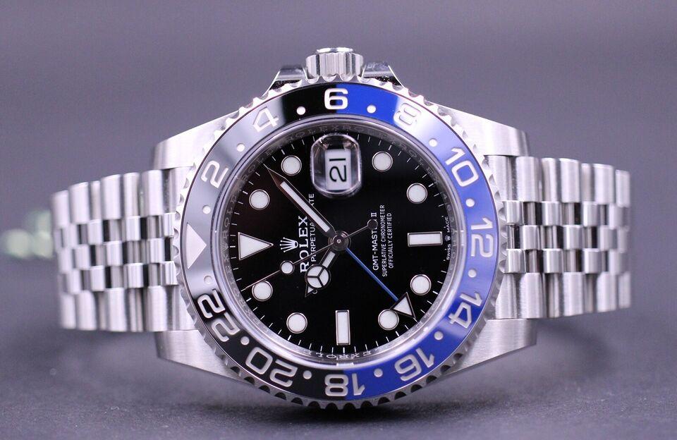 Rolex GMT-Master II 126710BLNR – NEW