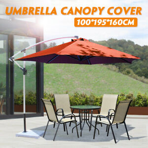 Jardin-exterieur-Sun-Parasol-couvert-Cour-Patio-Parapluie-tissu-Auvent-Shade