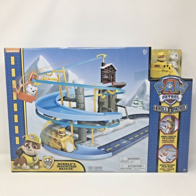 Paw Patrol Roll Patrol Rubble's Mountain Rescue Track Playset