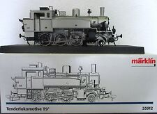 Märklin 55912 Spur 1 Dampflok BR T9.3 der KPEV, 1'C silberne Jubiläumsedition