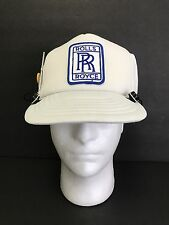 Vintage Rolls Royce SnapBack Hat With Built In Am/fm Portable Radio And Earbuds