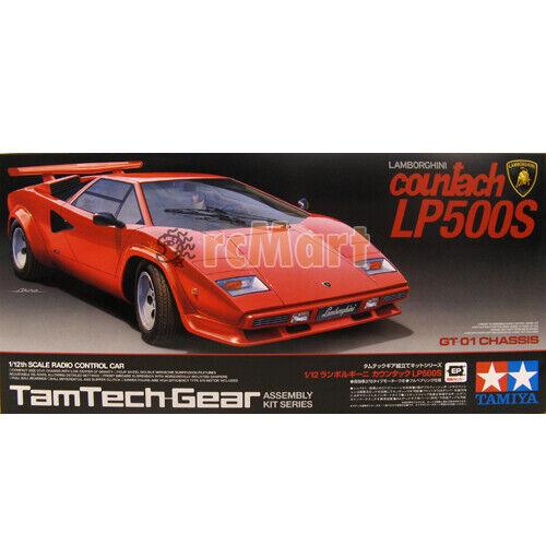 Tamiya Ep Rc Car 1 12 Lamborghini Countach Lp500s Tamtech Gear Gt01