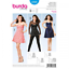 New BURDA Young 6930 Bustier Party Dress and Shirt Sewing Pattern Size EUR 32-46