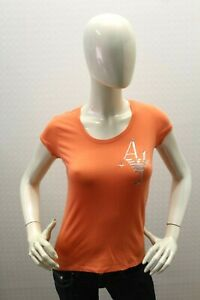 Maglia-ARMANI-JEANS-Donna-T-Shirt-Maglietta-Woman-Taglia-Size-38