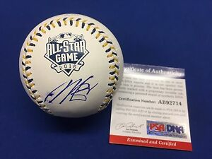 Dellin Betances Signed ASMLB 2016 All Star Baseball *Yankees PSA AB92714