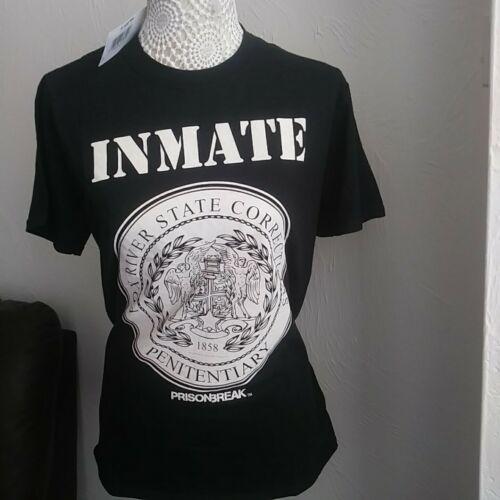 T-shirts Prison Break 100/% Cotton New Tags Size SMALL ex store HMV FREE POSTAGE.