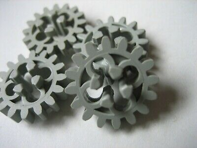 Lego  Technic Cogs Gears 16 Tooth Old Style Grey 4019