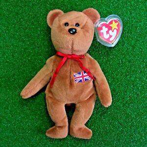 8425960c861 MWMT Ty Beanie Baby Britannia The Bear Very Rare 1997 INDONESIA ...