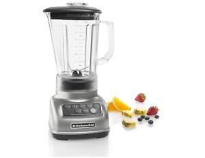 KitchenAid-R-KSB1570SL-5-Speed-Blender-56oz-with-BPA-Free-Diamond-Pitcher-SIlver